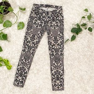 Seven 7 For All Mankind stained glass window jeans